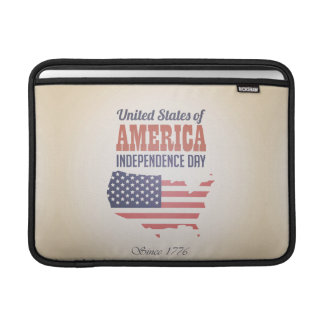 United States of America Independence Day Sleeve For MacBook Air