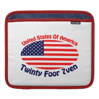 United States Of America iPad Sleeve