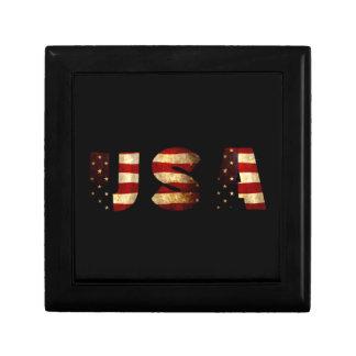 United States of America Jewelry Box