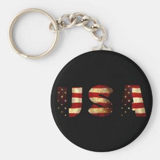 United States of America Keychain