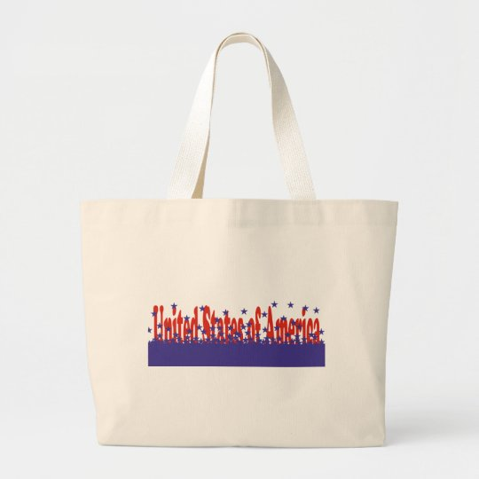 United States of America Large Tote Bag