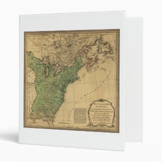 United States of America Map (1783) Binders