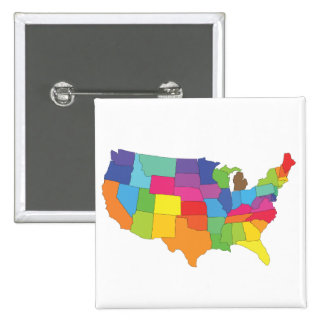 united states of america map pins