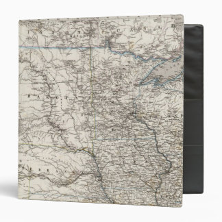 United States of America Mid west 3 Ring Binder
