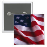 United States of America National  Flag Button