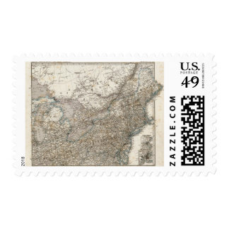 United States of America North east Postage Stamp