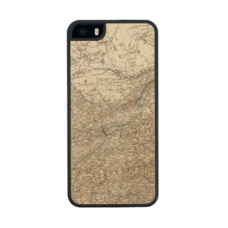 United States of America North east Carved® Maple iPhone 5 Slim Case