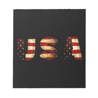 United States of America Notepad