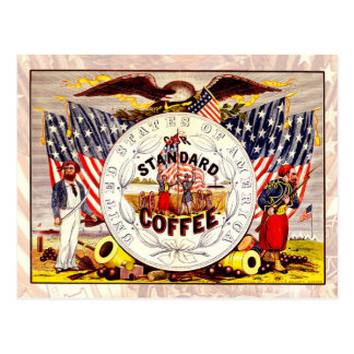 United States of America, Our Standard Coffee Postcard