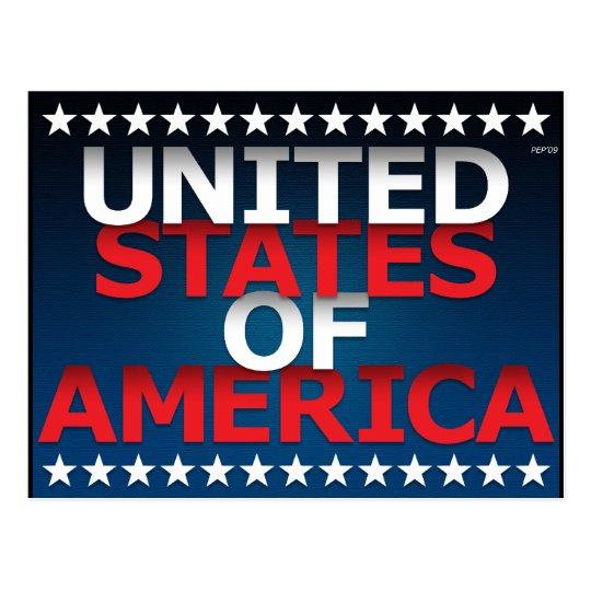 United States of America Postcard