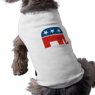 united states of america republican party elephant dog shirt