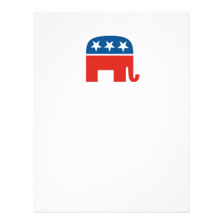 united states of america republican party elephant flyer