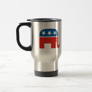 united states of america republican party elephant 15 oz stainless steel travel mug