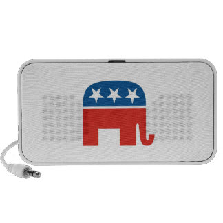 united states of america republican party elephant portable speaker