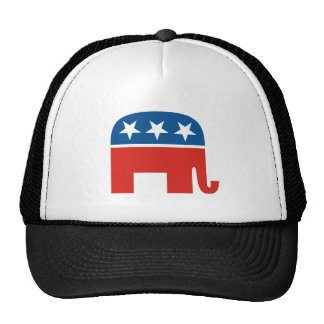 united states of america republican party elephant trucker hat