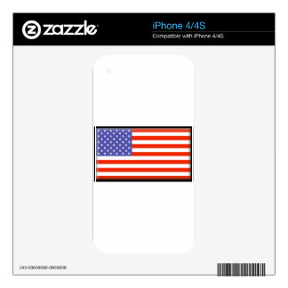 United States of America Skins For The iPhone 4S