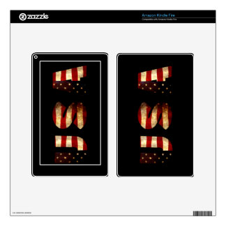United States of America Skins For Kindle Fire