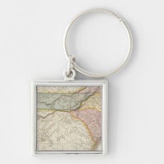 United States of America, southern part Keychain