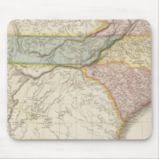United States of America, southern part Mouse Pad