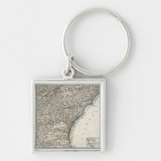 United States of America Southern States Keychain
