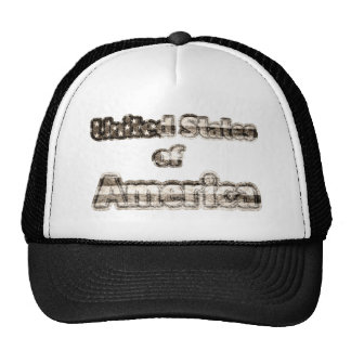 United States of America Trucker Hat