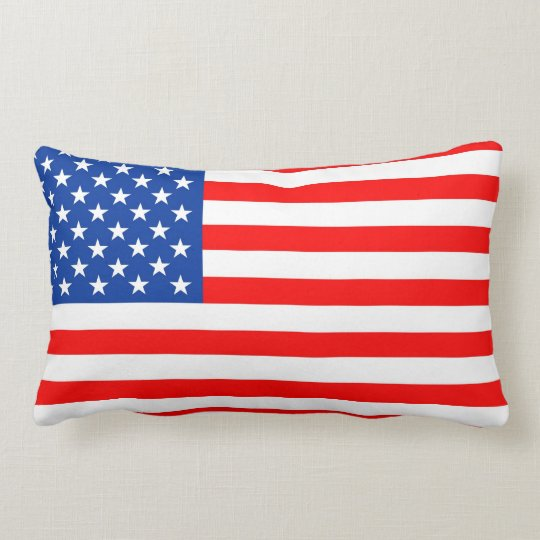 united states of america usa country flag pillow