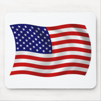United States of America (USA) Flag Mousepad