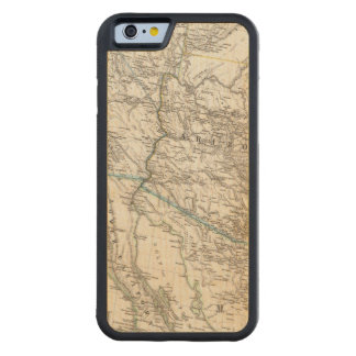 United States of America West Carved® Maple iPhone 6 Bumper Case