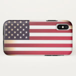 United States of American flag iPhone X Case