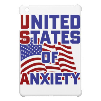 United States of Anxiety iPad Mini Covers
