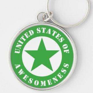 United States of Awesomeness Keychain