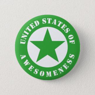 United States of Awesomeness Pinback Button