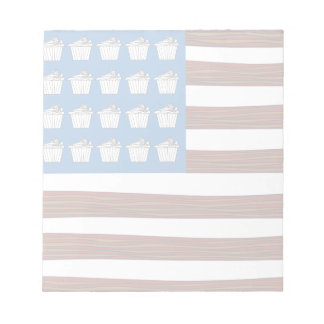United States of bacon and Cupcakes Notepad