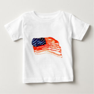 United States of Bacon Baby T-Shirt