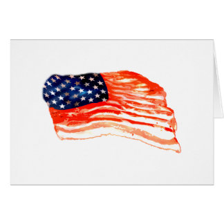 United States of Bacon Card
