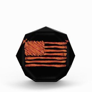 United States of Bacon Flag Acrylic Award