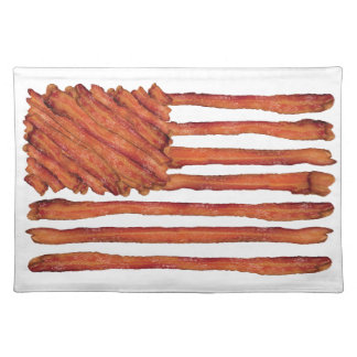 United States of Bacon Flag Placemat