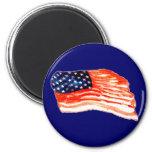 United States of Bacon Fridge Magnet
