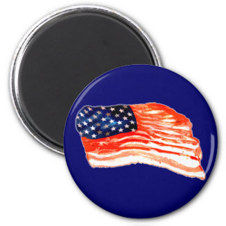 United States of Bacon Magnet