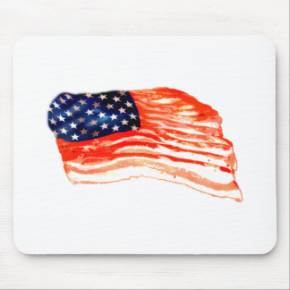 United States of Bacon Mouse Pad