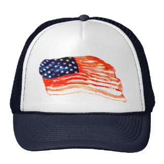 United States of Bacon Trucker Hat