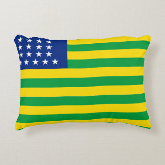 United States of Brazil flag Accent Pillow