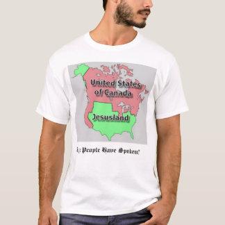 United States of Canada and Jesusland T-Shirt