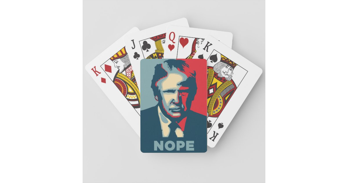 United States Of Donald Trump Playing Cards | Zazzle.com