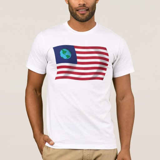 United States of Earth Flag Shirt