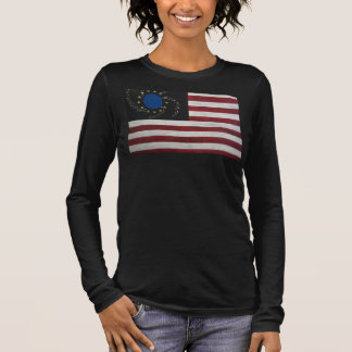 United States of Earth on black t-shirt