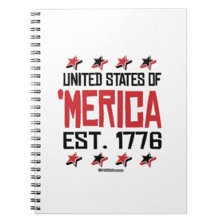 United States of 'Merica Notebook