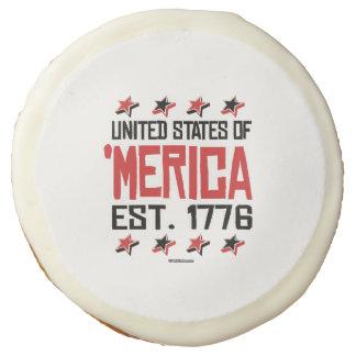 United States of 'Merica Sugar Cookie
