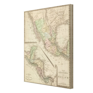 United States of Mexico 2 Canvas Print
