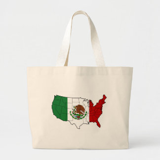 United States of Mexico Canvas Bag